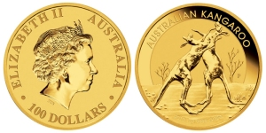 koin emas australia = australian-kangaroo-gold-coin