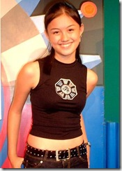 Agnes Monica Sweet masih kecil (6)