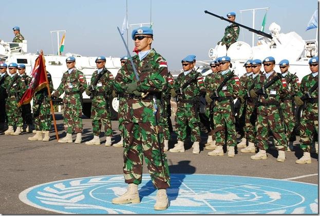 pasukan TNI di libanon dalam misi PBB