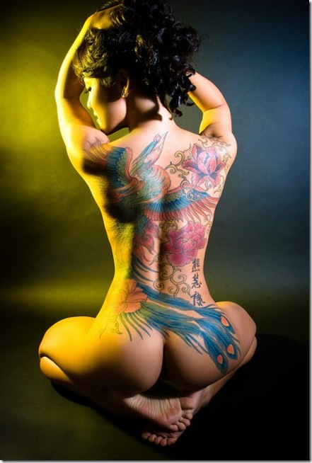 tatto woman