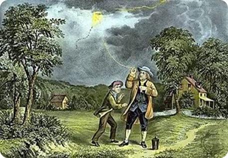 Layangan Listrik Benjamin Franklin