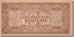 IndonesiaP29-100Rupiah-1947-donatedag_b