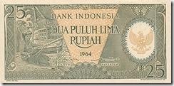 IndonesiaP95-25Rupiah-1964_f