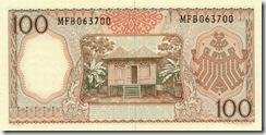 IndonesiaP97-100Rupiah-1964_b-donated