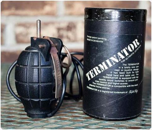 joystick berbentuk granat