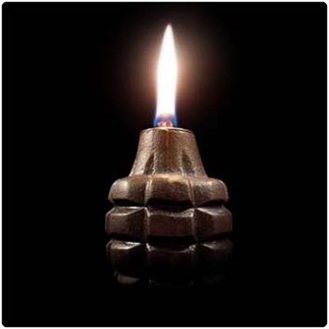 lampu bakar granat
