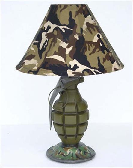 lampu meja granat