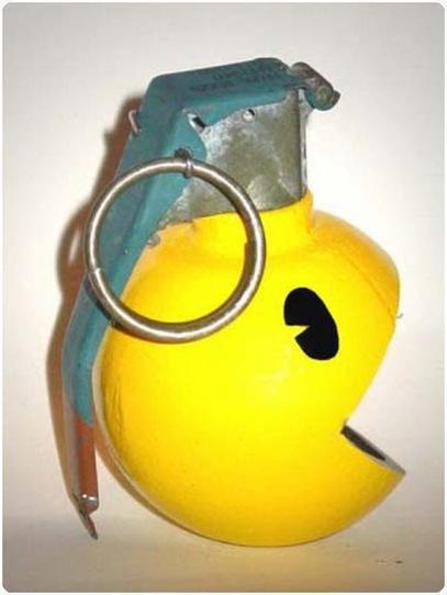 pacman granat