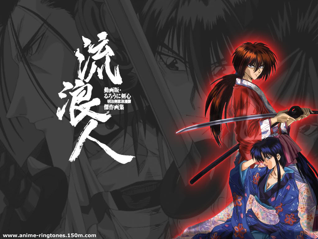 Gambar Kartun Samurai X Keren