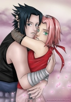 Sasuke_and_Sakura_by_Arya_Aiedail