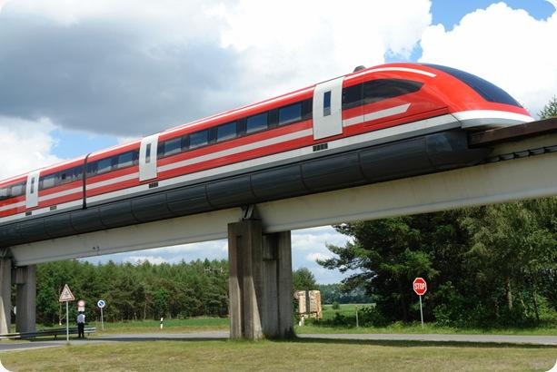 wanibesak kereta terbang Transrapid-emsland